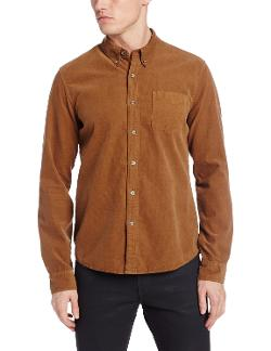 Men's Corduroy Button Down Shirt by AG Adriano Goldschmied in Get On Up