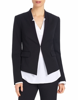 Fitted Collarless Blazer by Ellen Tracy in Scandal