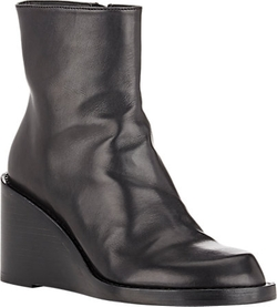 Wedge-Heel Ankle Boots by Ann Demeulemeester in Jessica Jones