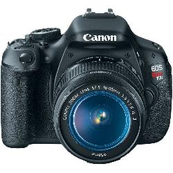 EOS Rebel T3i 18 MP CMOS Digital SLR Camera by Canon in Blended