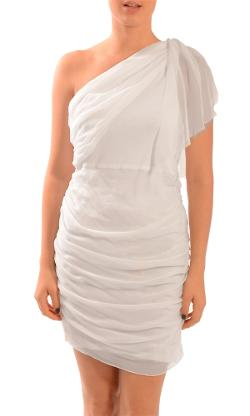 Grecian Draped One Shoulder Dress by Alice + Olivia in Ted