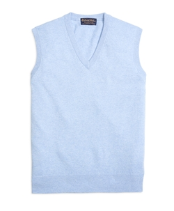 Cashmere Sweater Vest by Brooks Brothers in Scream Queens