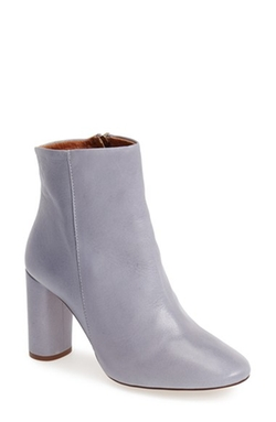 'Magnum' Leather Ankle Boot by Topshop in Scream Queens