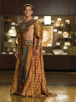 Custom Made Egyptian Pharaoh Costume (Ahkmenrah) by Marlene Stewart (Costume Designer) in Night at the Museum: Secret of the Tomb