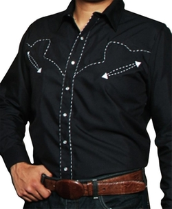 High Quality Country Cowboy Shirt by Modestone in Nashville
