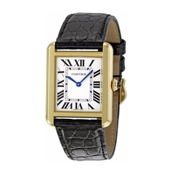 Tank Solo Watch by Cartier in Suits