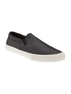 Women's Faux-Leather Slip-Ons by Old Navy in The Big Bang Theory