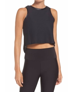 Crop Muscle Tee by Koral in The Bold Type
