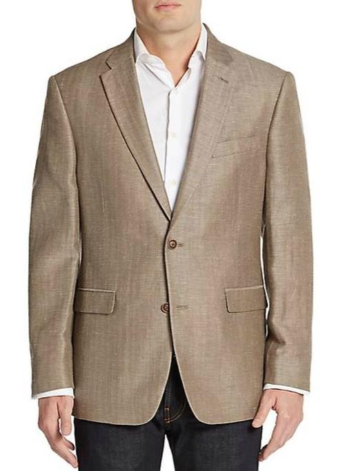 Linen & Wool-Blend Sportcoat by Tommy Hilfiger in The Blacklist - Season 3 Episode 5