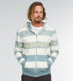 Wide Stripe Hoodie by Threads 4 Thought in Entourage