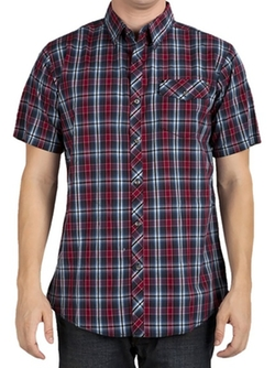Short Sleeve Plaid Shirt by Micros in Crazy, Stupid, Love.