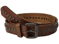 Leather Metal Stud Belt by Cowboysbelt in The Longest Ride