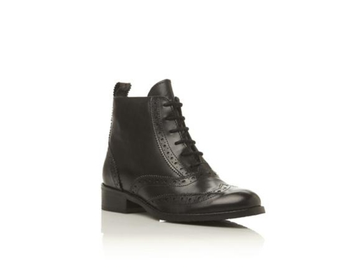 Leather Brogue Ankle Boot by Bertie Ladies in Jem and the Holograms