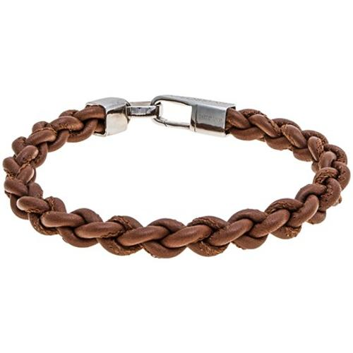 Braided Leather Lobster Mykonos Bracelet by Tateossian in A Good Day to Die Hard