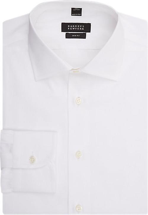 Trim-Fit Dress Shirt by Barneys New York in Joy