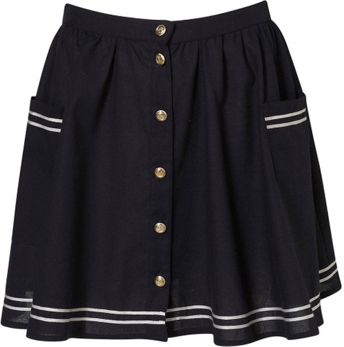 Sailor Skirt by Topshop in Pretty Little Liars - Season 6 Episode 10