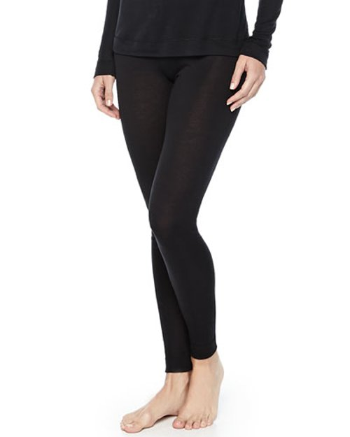 Cashmere-Silk Blend Leggings by Hanro in That Awkward Moment