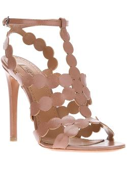 Cut-Out Stiletto Sandal by Alaïa in The Other Woman