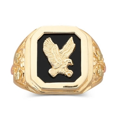 Mens Eagle Ring by Black Hills Gold in Only God Forgives