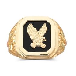 Mens Eagle Ring by Black Hills Gold in Only God Forgives