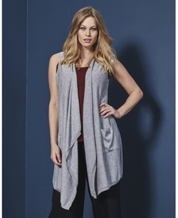 Sleeveless Waterfall Cardigan by Simply Be in Rocky IV