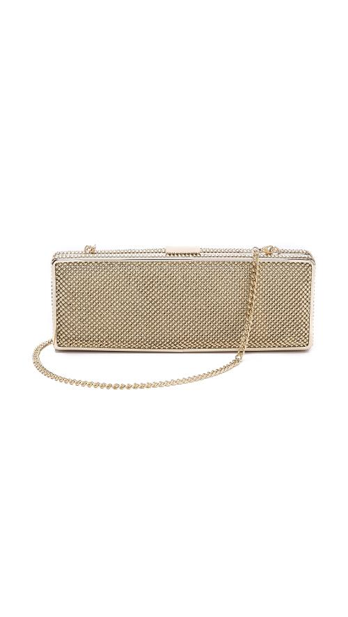 Rectangle Minaudiere by Whiting & Davis in The Other Woman
