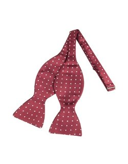 Polkdot Silk Self-tie Bowtie by Forzieri in Shutter Island
