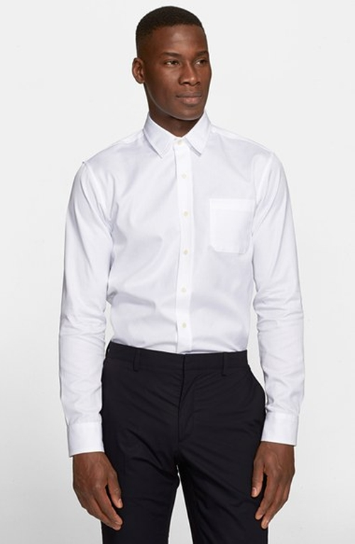 Trim Fit Dress Shirt by Alexander Olch in Mr. & Mrs. Smith