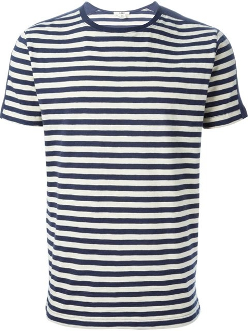 Puma Striped T-Shirt by YMC in Unfriended