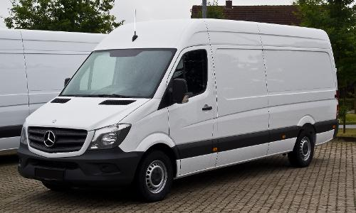 Sprinter by Mercedes-Benz in Into the Storm