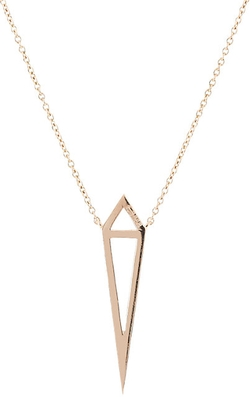Dagger Pendant Necklace by Eva Fehren in Suits