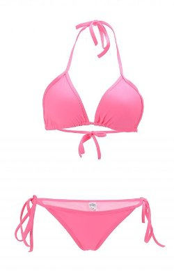 Halter Top Two-Piece Bikini by Louise Maelys in Couple's Retreat