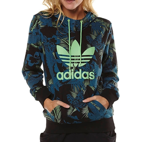 Trefoil Logo Hoodie - Multicolor by Adidas in Keeping Up With The Kardashians