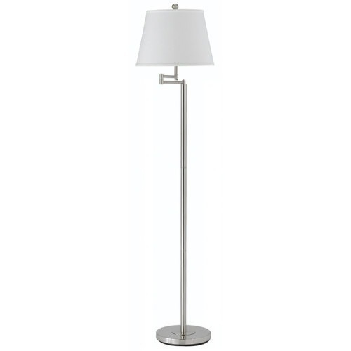 Theta Swing Arm Floor Lamp by Kenroy Home in Crazy, Stupid, Love.