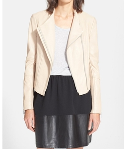 Asymmetric Leather Jacket by Vince in The Bachelor
