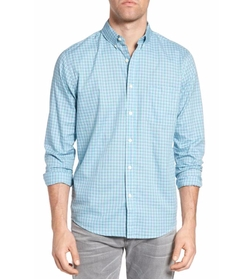 Laguna Check Sport Shirt by Faherty in The Commuter