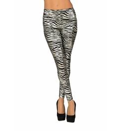 Zebra Adult Leggings by Rubie's Costume in Sisters