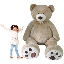 Huge Jumbo Teddy Bear Plush by Hugfun in The Big Bang Theory