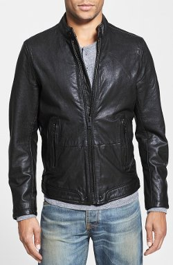 L-Thermal Leather Jacket by Diesel in Run All Night