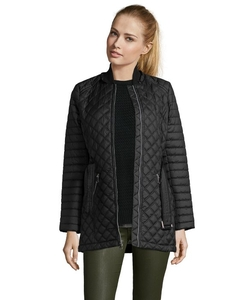 Diamond Quilted 'Miley' Hooded Zip Front Jacket by Marc New York in Spotlight