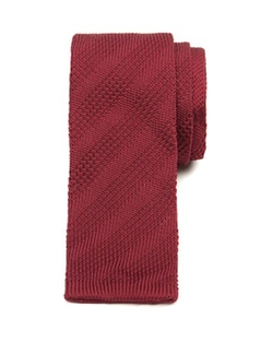 Artyday Knit Skinny Tie by Ted Baker in Legend