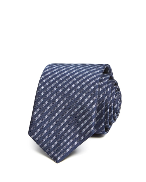 Norten Roadster Stripe Skinny Tie by Theory in Wedding Crashers