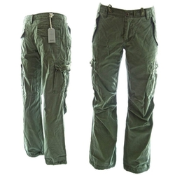 Rope-belted Backpackers Cargo Pants by Molecule in GoldenEye