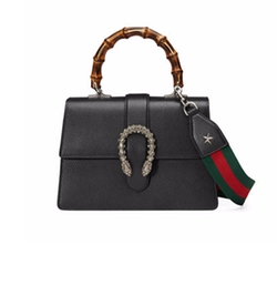 Dionysus Medium Leather Bag by Gucci in Will & Grace