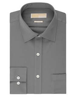 Regular Fit Non Iron Dress Shirt by Michael Michael Kors in Arrow