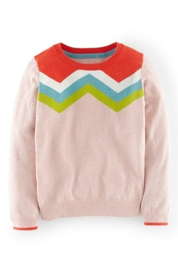 Girls/Toddlers Crewneck Sweater by Boden USA in Modern Family