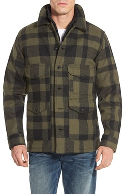 Mackinaw Cruiser Wool Jacket by Filson in Quantico
