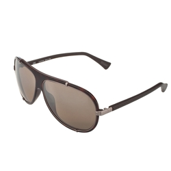 Dark Havana Aviator Sunglasses by Lanvin in Empire