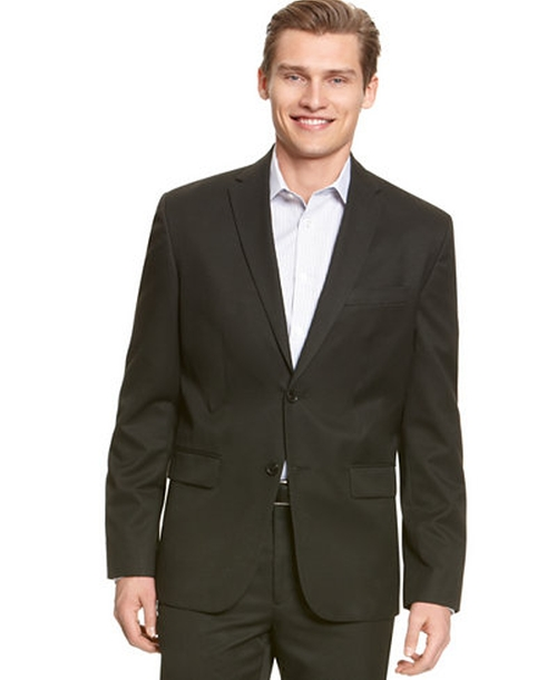 Solid Two Button Blazer by Calvin Klein in The Fundamentals of Caring