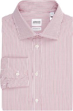 Graph-Check Shirt by Armani Collezioni in The Blacklist